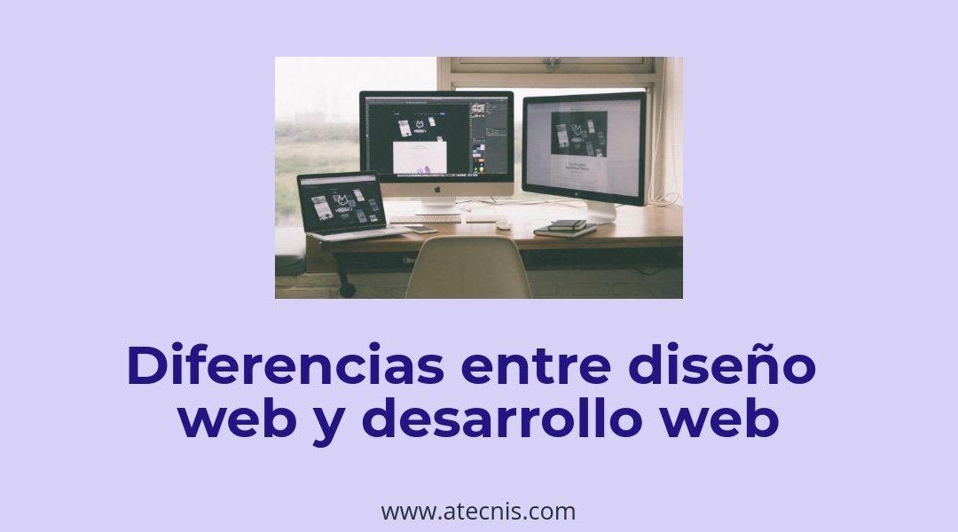 Diferencias entre diseño web y desarrollo web