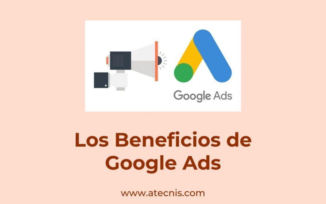 Los Beneficios de Google Ads