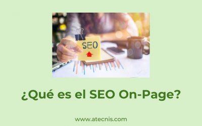 ¿Qué es SEO On-Page?