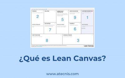 ¿Qué es Lean Canvas?