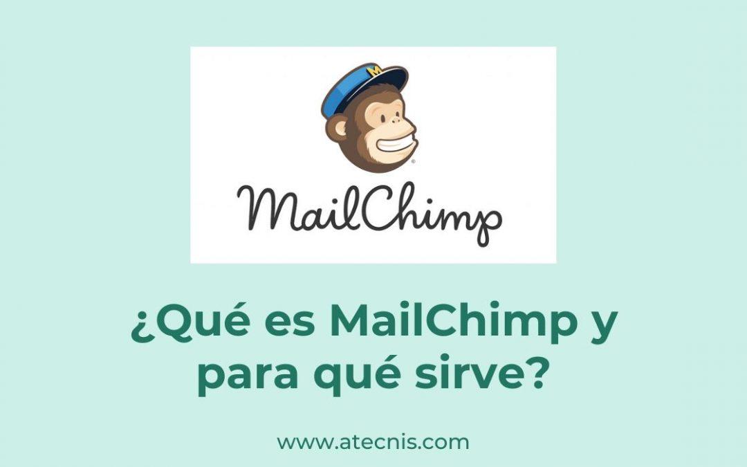 ¿Qué es MailChimp y para qué sirve?