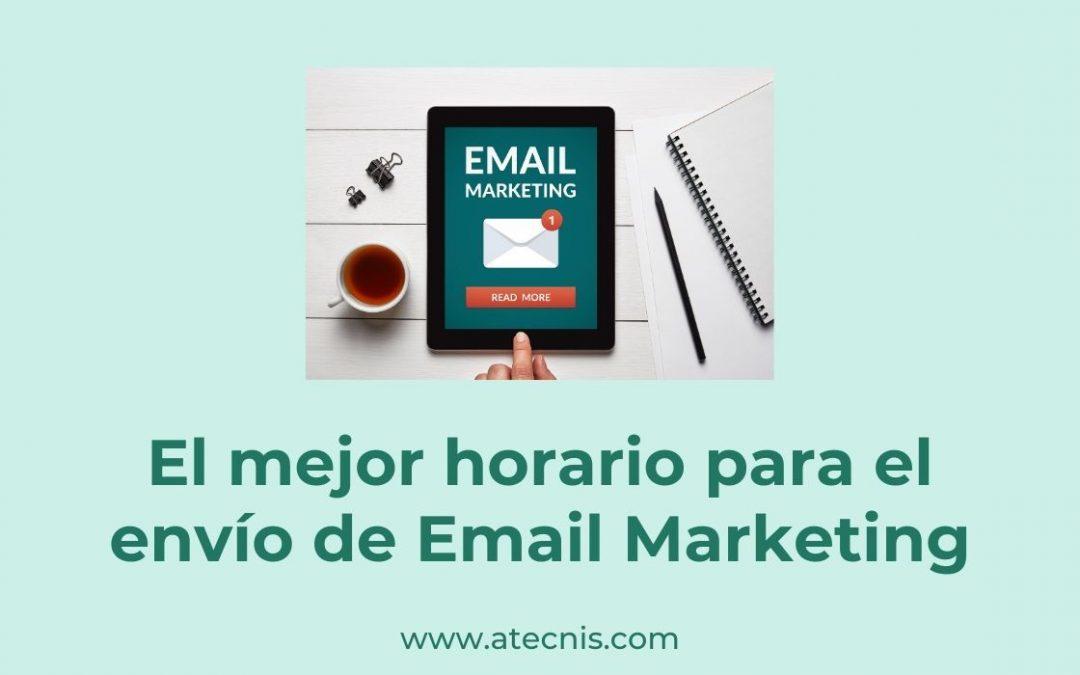 El mejor horario para hacer Email Marketing