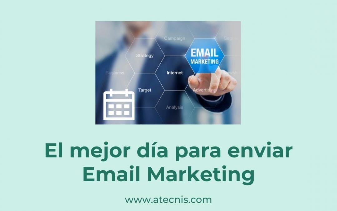 El mejor día para enviar Email Marketing