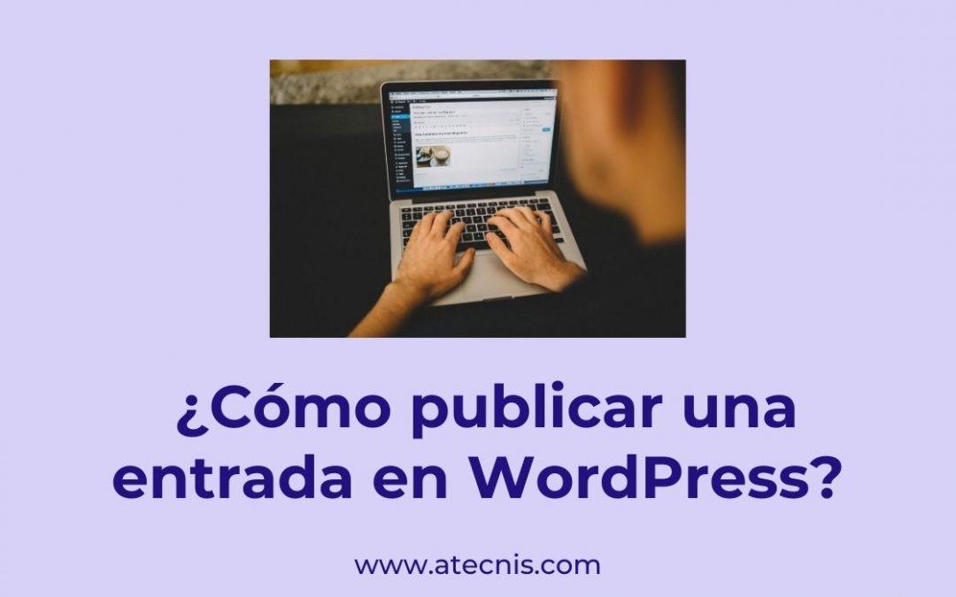 cómo publicar una entrada en wordpress