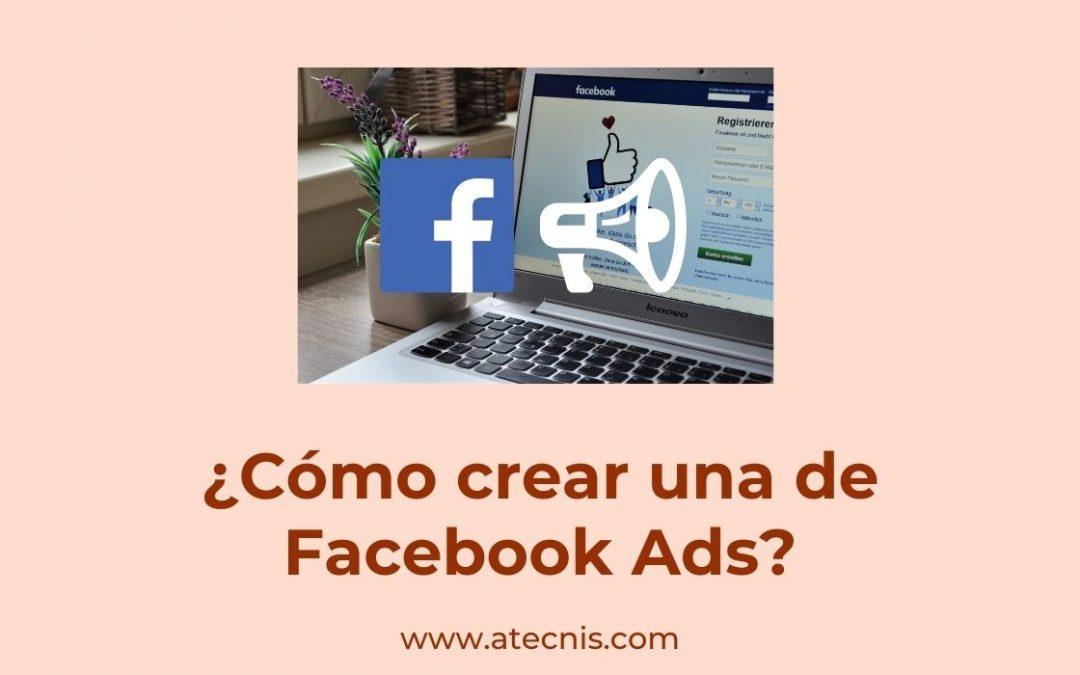¿Cómo crear una cuenta de Facebook Ads?