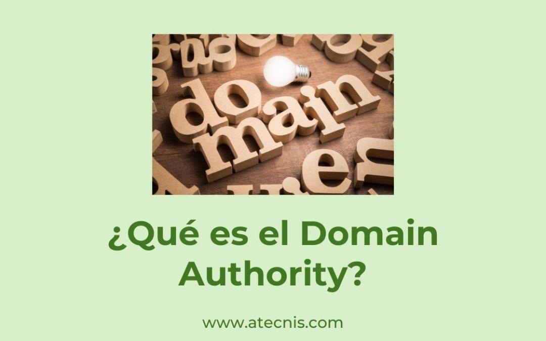 ¿Qué es el Domain Authority?