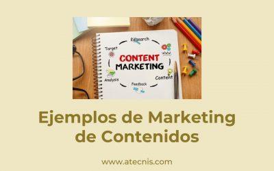 Ejemplos de Marketing de Contenidos
